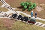 Walthers Scenemaster 949-3007 Static Light Industrial Rail - Track/Cars/Locomotive